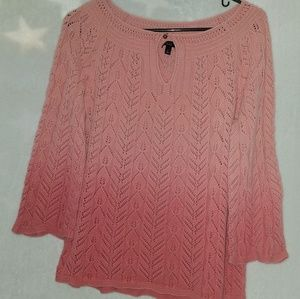 Womens knitted blouse